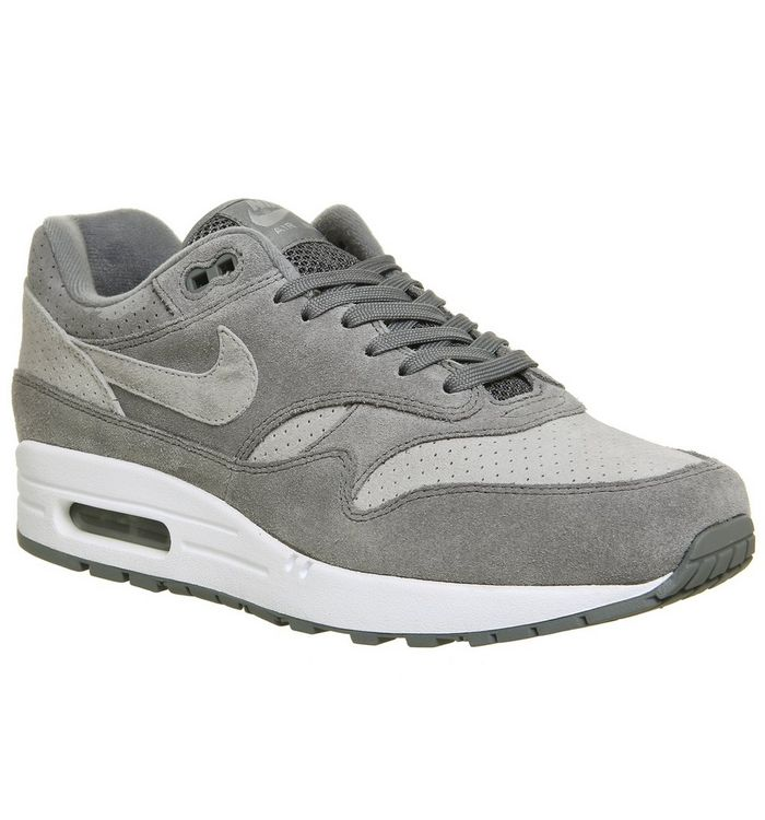 the latest 34aa1 9921a Air Max 1 Trainers  Nike, Air Max 1 Trainers, Cool Grey White ...