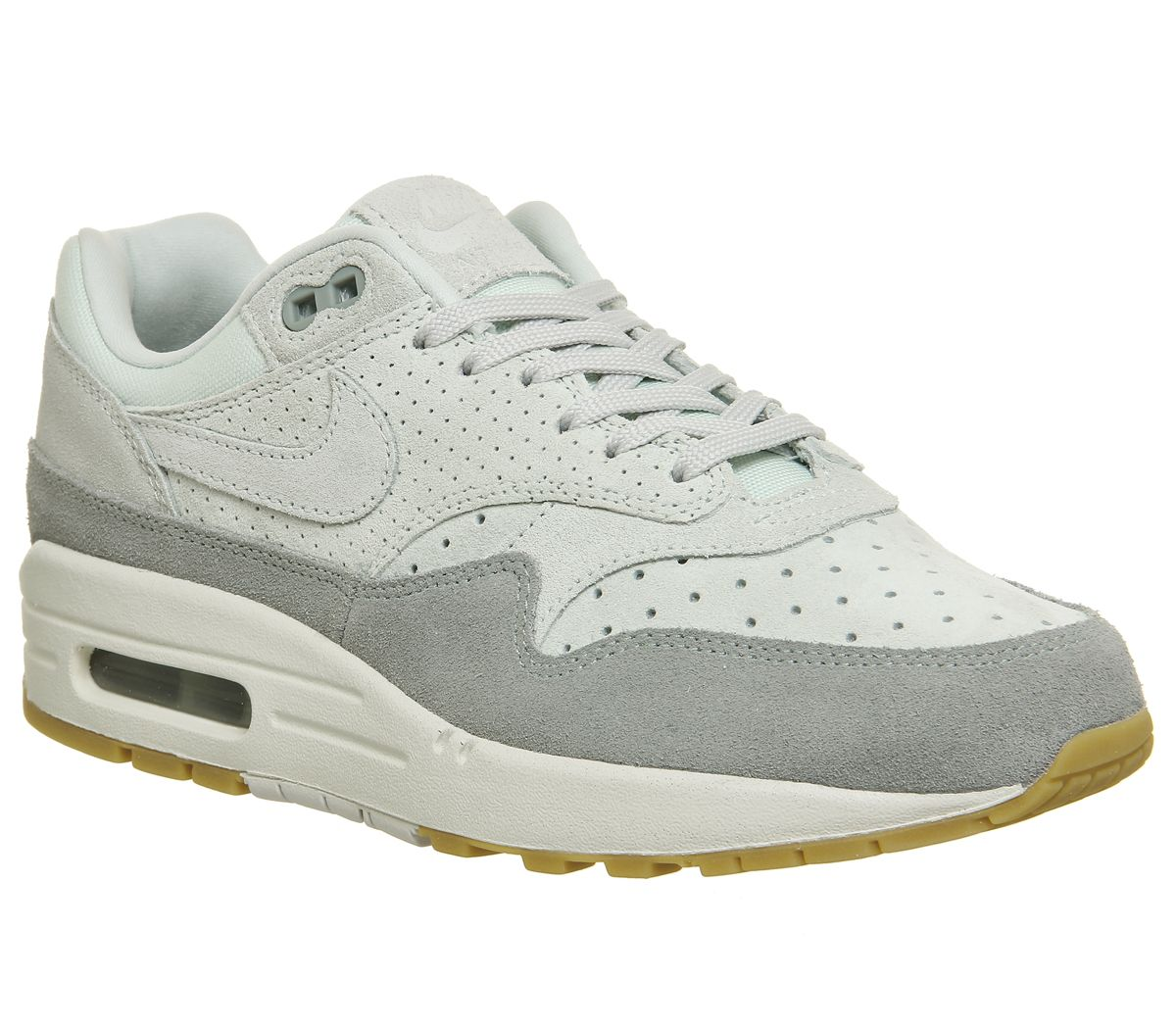 low priced bbb24 b118b Nike Air Max 1 Trainers Barely Grey Light Pumice - Hers trainers