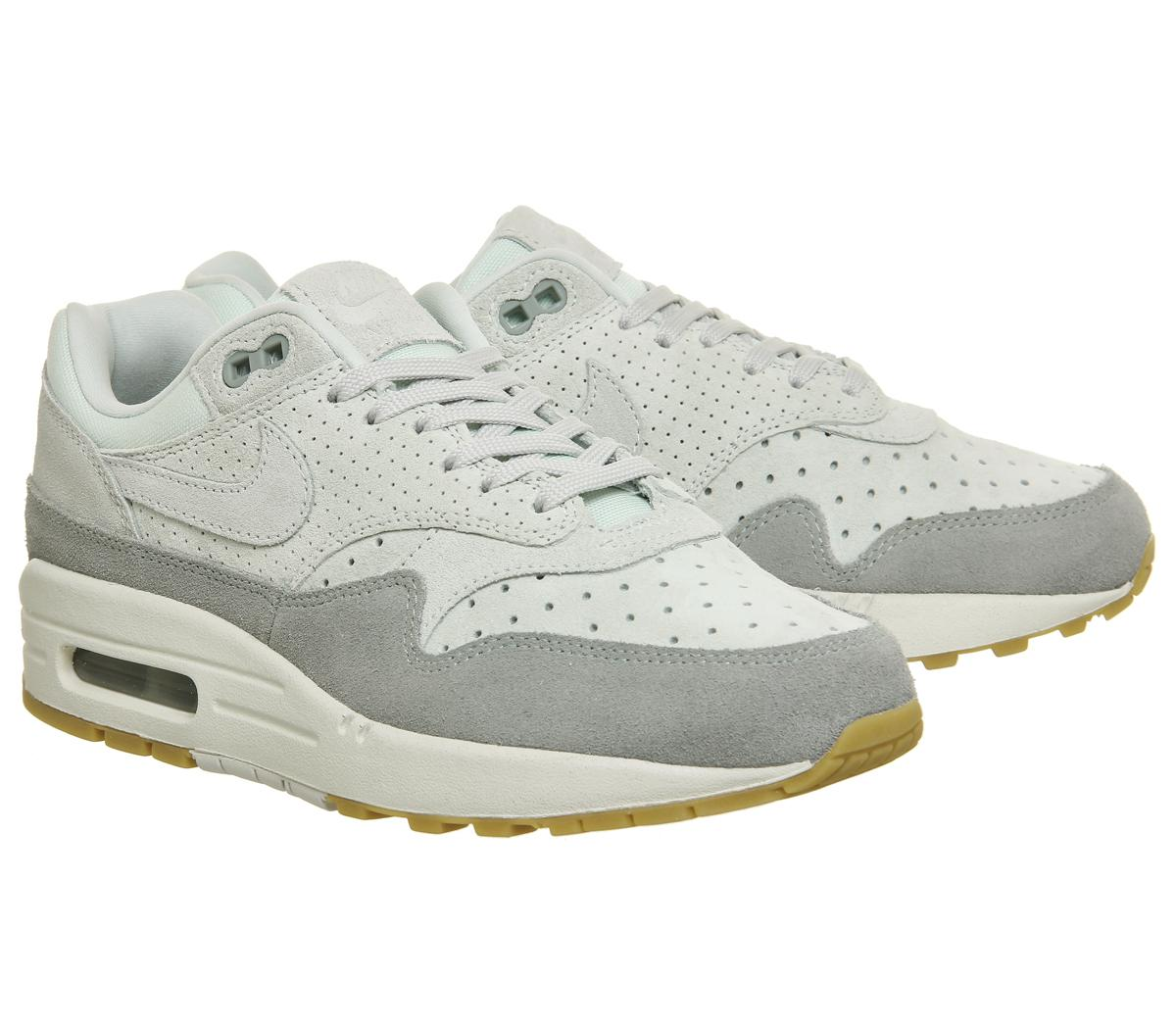 Nike Air Max 1 Trainers Barely Grey