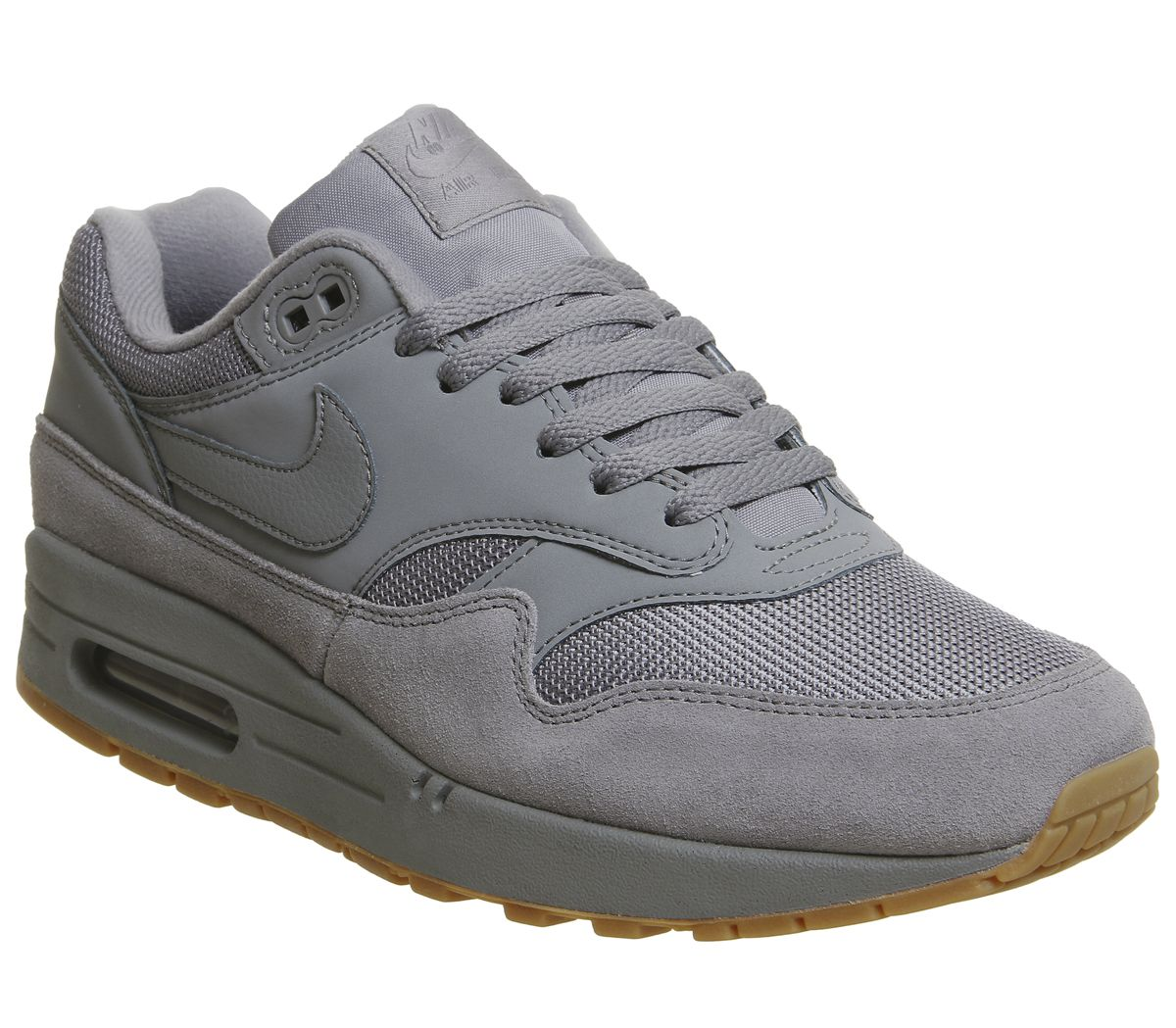on sale f9bc3 a4600 Nike Air Max 1 Trainers Cool Grey Cool Grey Gum - His trainers