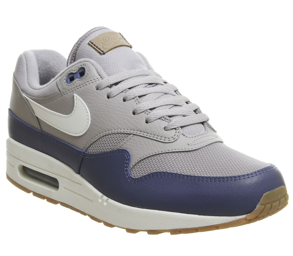 online store 42d4e c1c09 Nike Air Max 1 Trainers Atmosphere Grey Sail Deep Royal - His trainers