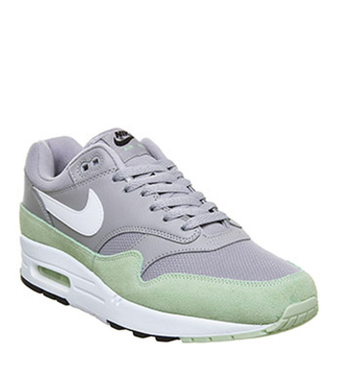 huge discount 15a4d 28c39 15-04-2019. Nike Air Max 1 Trainers Atmosphere Grey White Fresh Mint Black.  £100.00. Quickbuy