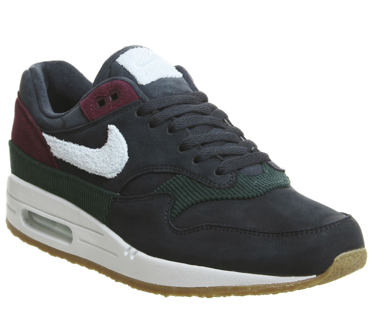 new concept 9f169 51fd2 Nike, Air Max 1 Trainers, Ocean Obsidian Crepe Sole