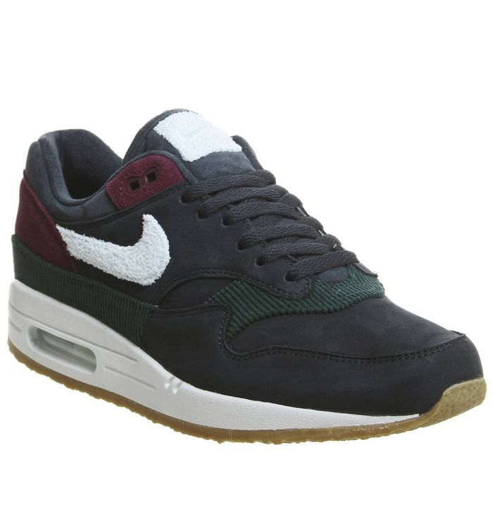 promo code 7d475 d956a Air Max 1 Trainers  Nike, Air Max 1 Trainers, Ocean Obsidian Crepe Sole ...