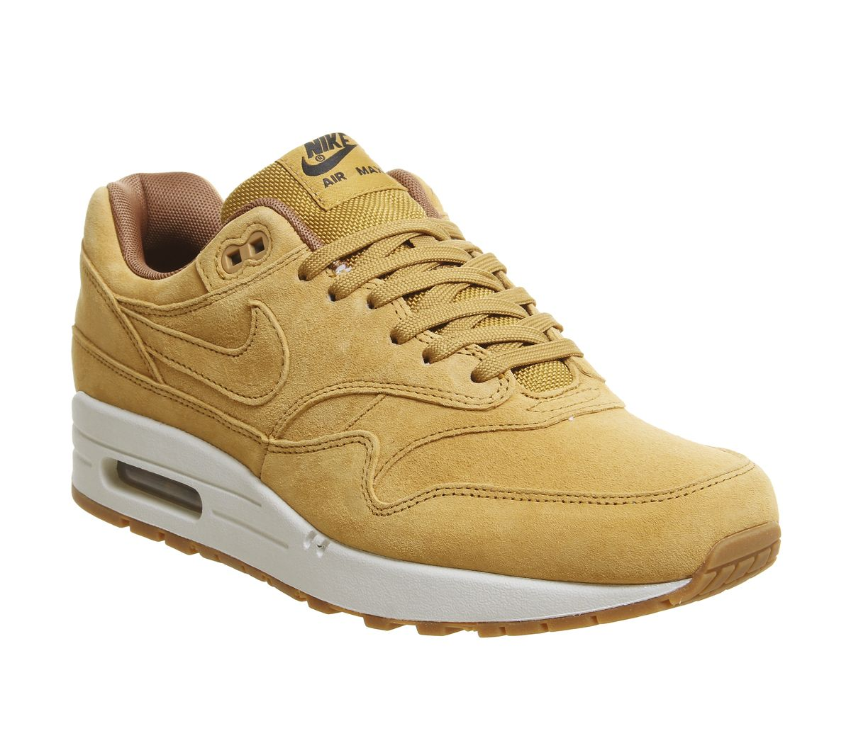 the best attitude 77be4 ab34b Nike Air Max 1 Trainers Wheat Light Bone Gum - His trainers
