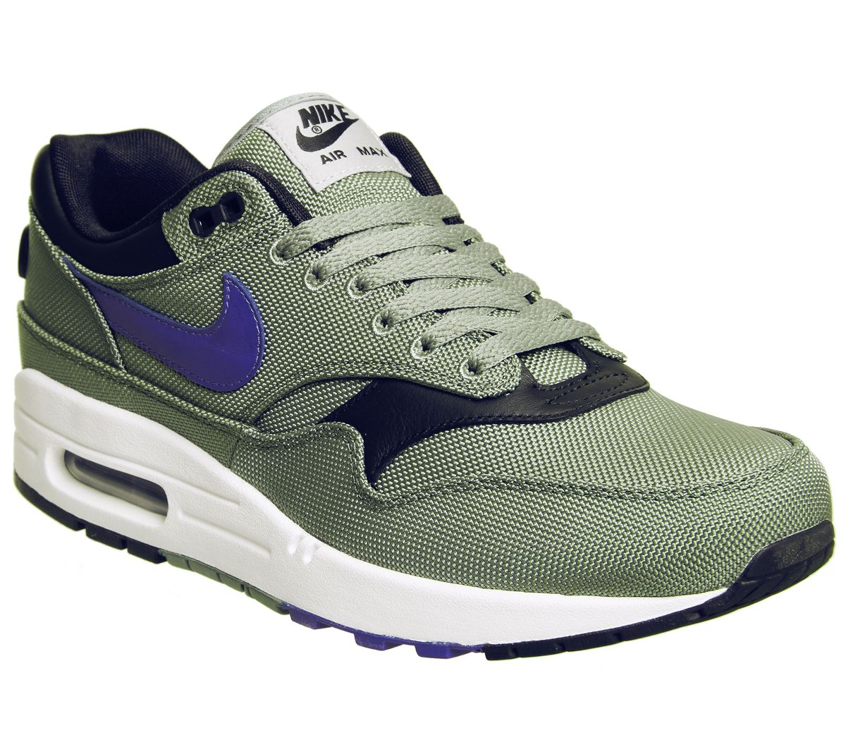 newest 9fbbf 64fd3 Nike Air Max 1 Trainers Clay Green Hyper Floral - His trainers