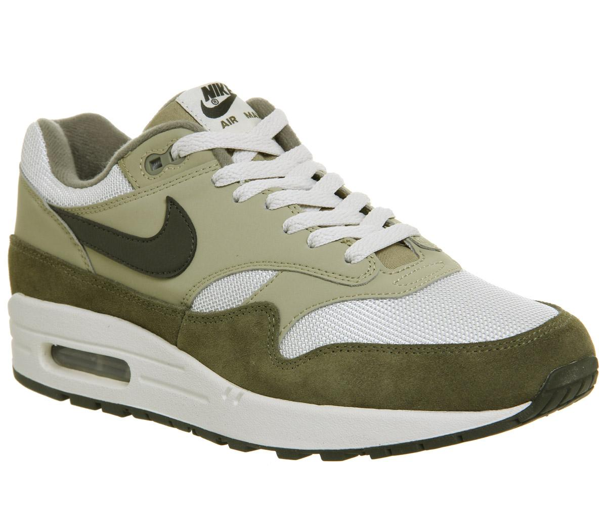 Nike Air Max 1 (Medium Olive Sequoia Neutral Olive)