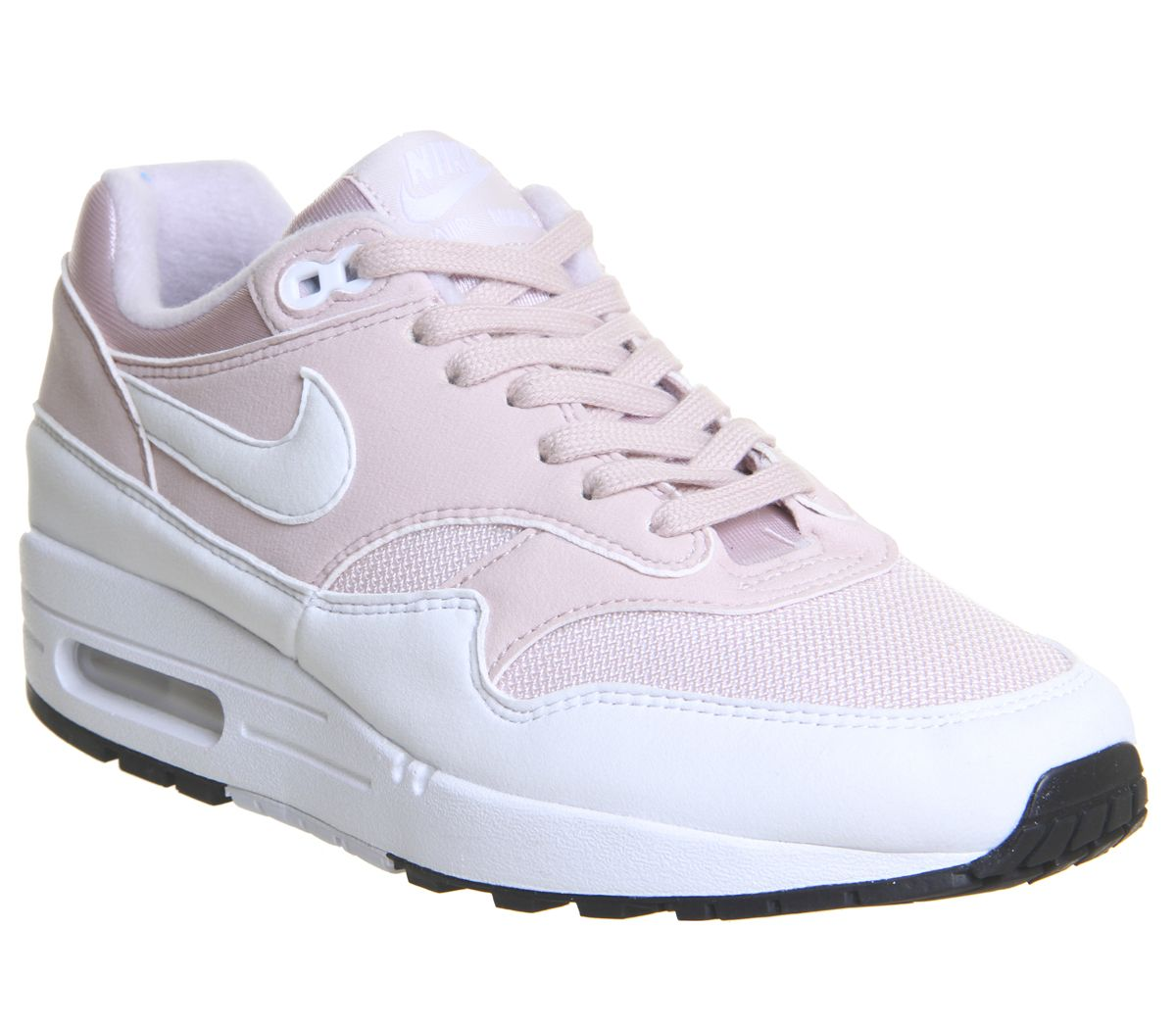 buy online bdb52 15674 Nike Air Max 1 Trainers Barely Rose White F - Hers trainers