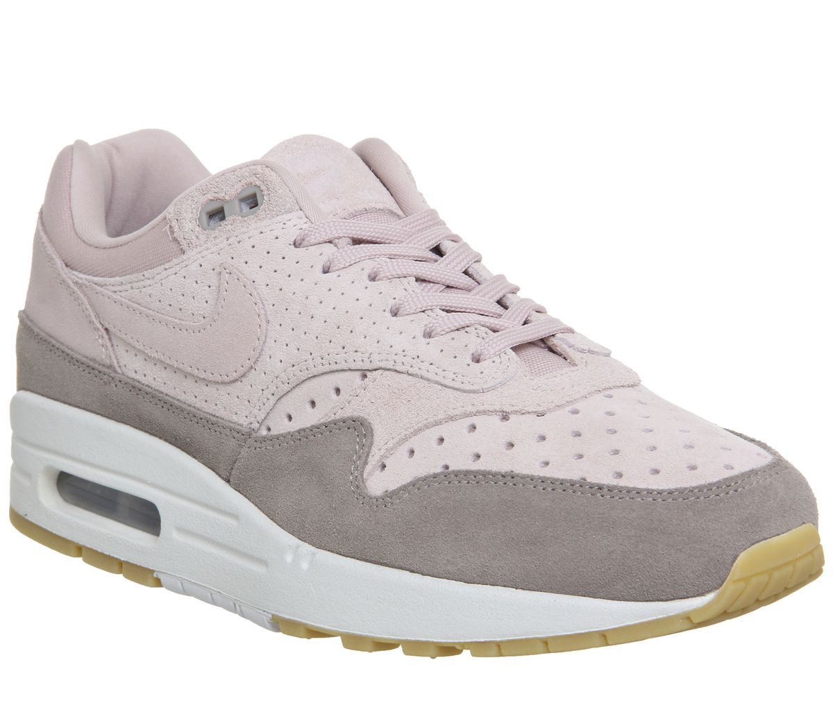 2d4345ce0d Nike Air Max 1 Trainers Particle Beige - Hers trainers