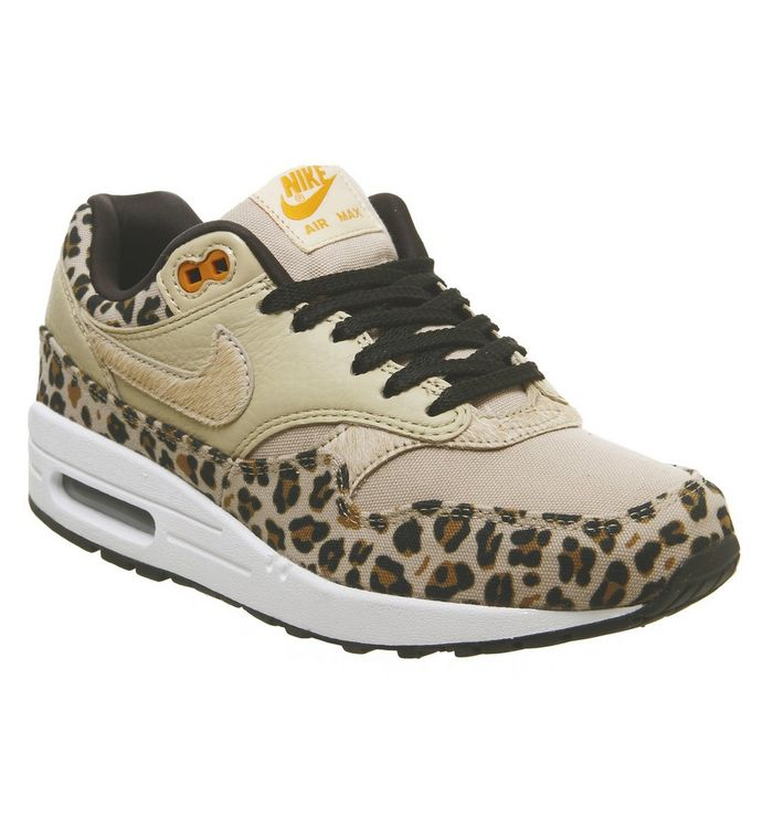 online store 59090 5f553 Air Max 1 Trainers  Nike, Air Max 1 Trainers, Desert Ore Wheat Leopard ...