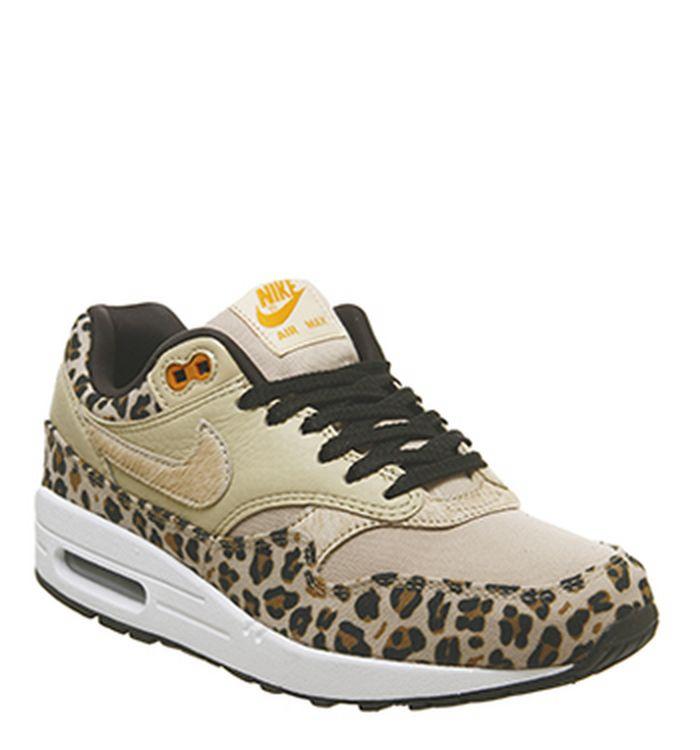 sale retailer 1e119 79455 Launching 09-02-2019 · Nike Air Max 1 Trainers Desert Ore Wheat Leopard.  £110.00