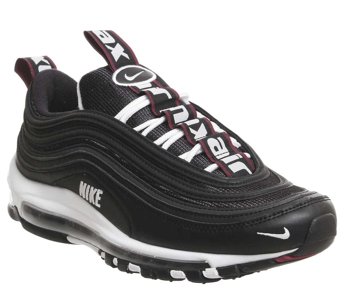 Men's Nike Air Max 97 Blackvarsity Red