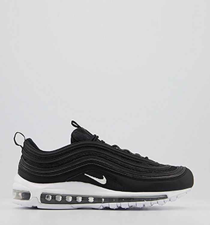 promo code d21b6 d2503 Launching 06-04-2018 · Nike Air Max 97 Trainers Black Wolf Grey White