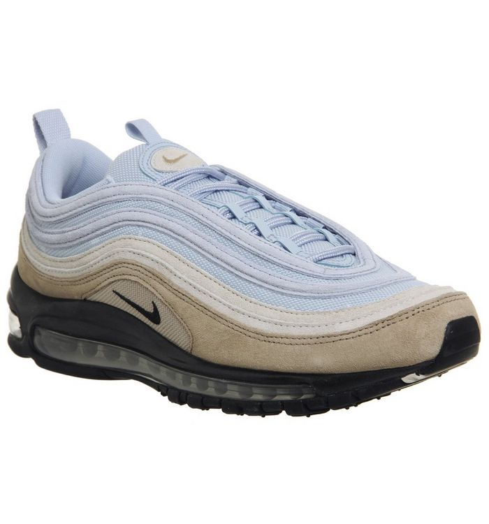 500ec59e Air Max 97 Trainers; Nike, Air Max 97 Trainers, Desert Black Desert Sand  Royal Tint ...