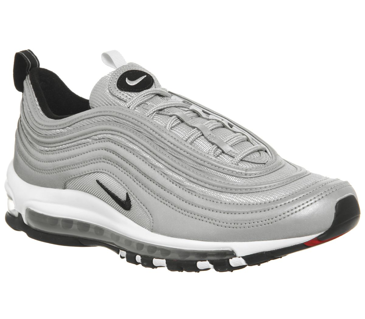 d60371fdd3 Nike Air Max 97 Trainers Reflective Silver Black Pure Platinum - His ...