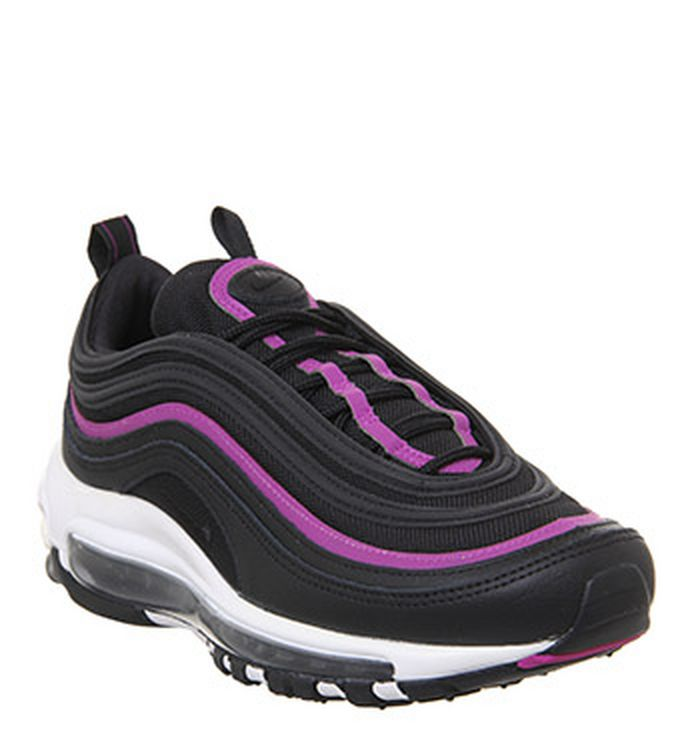 big sale a99c5 8696f 21-01-2019 · Nike Air Max 97 Trainers Black Pink Lx Gel
