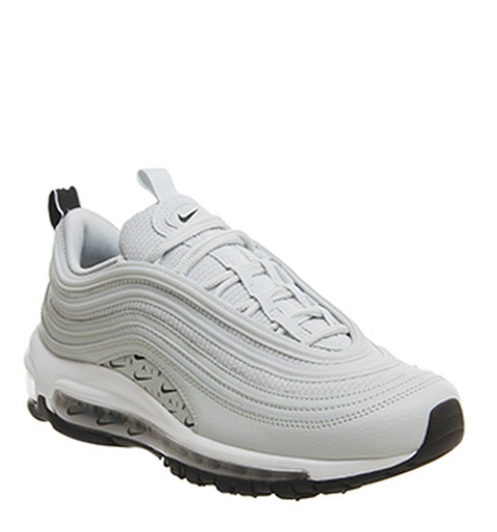 e55bad8c105 22-11-2018 · Nike Air Max 97 Trainers Silver Black White. was £155.00 NOW  £95.00. Quickbuy
