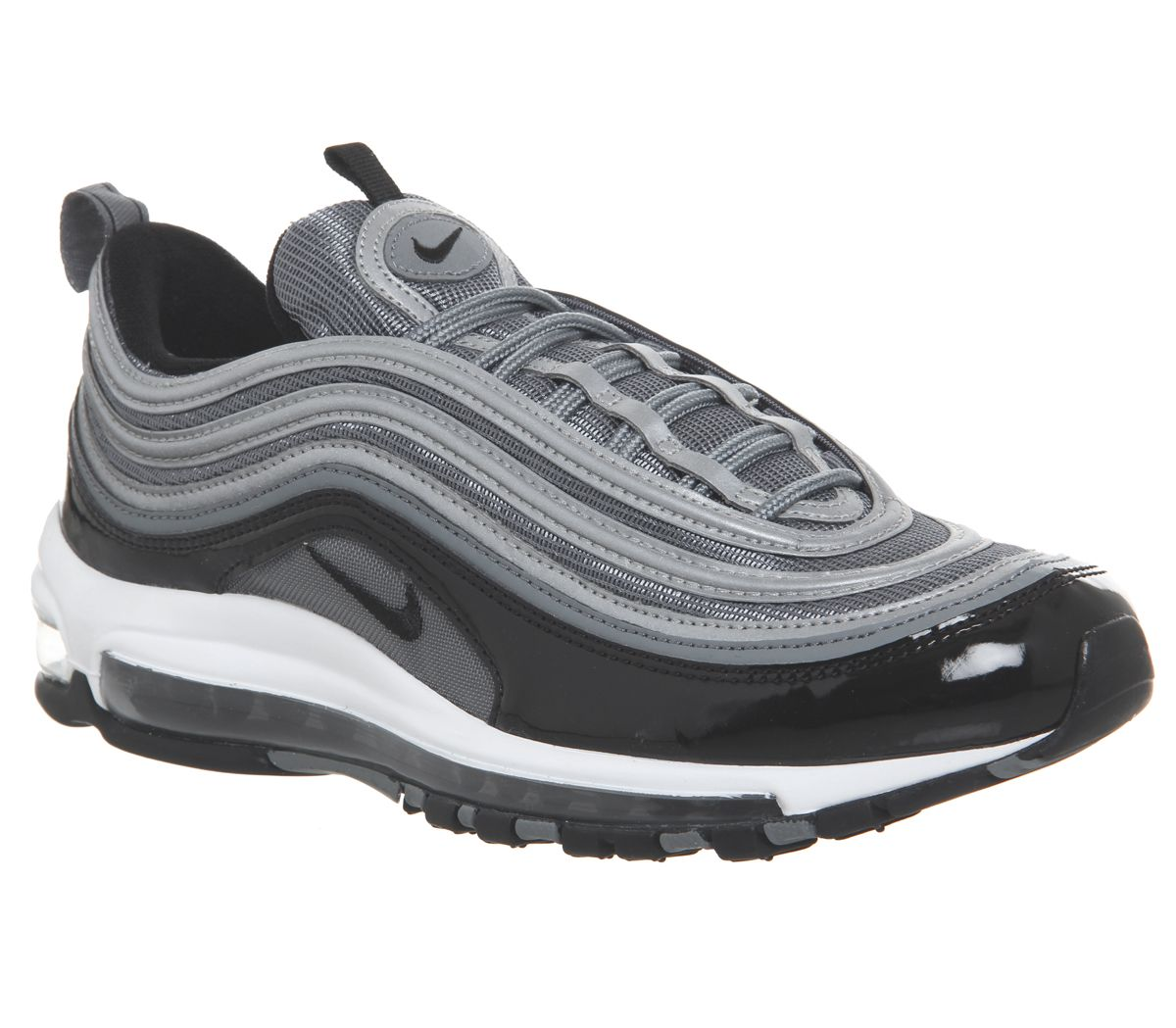 957e8d40d1 Nike Air Max 97 Trainers Cool Grey Black White - His trainers