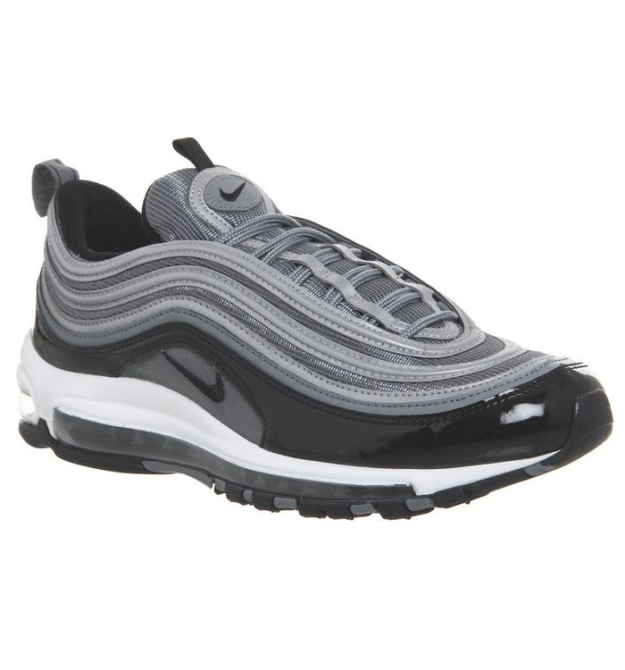 e55c23e3e0 Air Max 97 Trainers; Nike, Air Max 97 Trainers, Cool Grey Black White ...