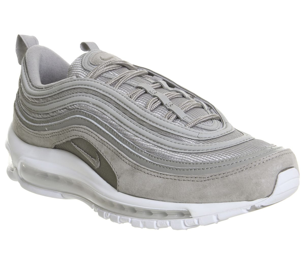 0229ae5a71f Nike Air Max 97 Trainers Cobblestone White - His trainers