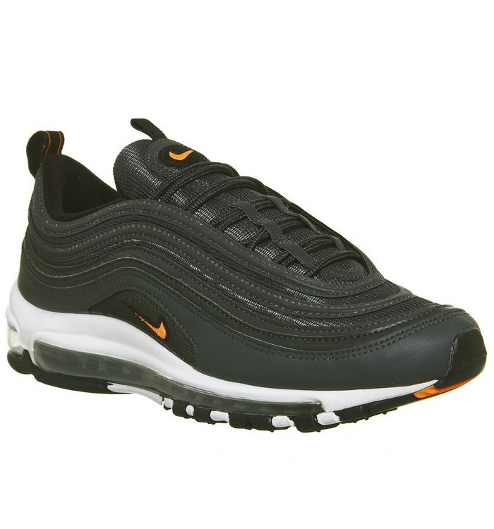 hot sale online 380f5 c361f Air Max 97 Trainers; Nike, Air Max 97 Trainers, Anthracite Total Orange  White ...