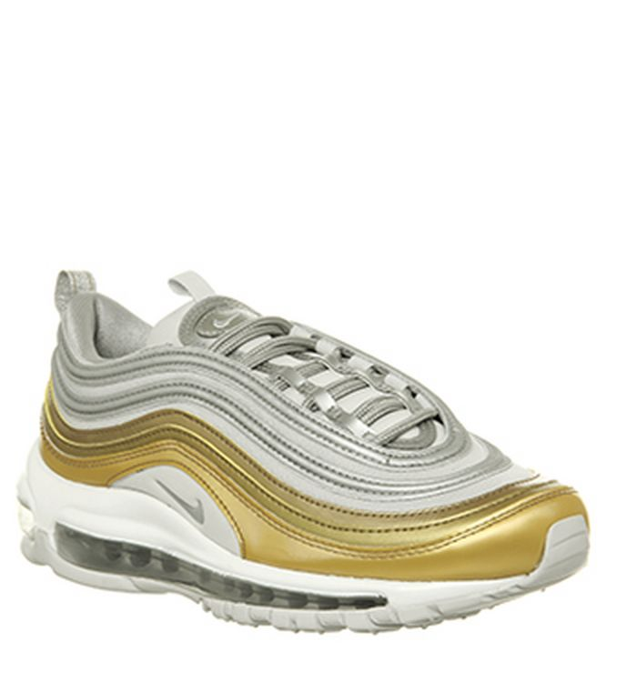 new arrival ad565 70d25 Launching 15-11-2018 · Nike Air Max 97 Trainers Vast Grey Mtlc Silver Gold  Summit White