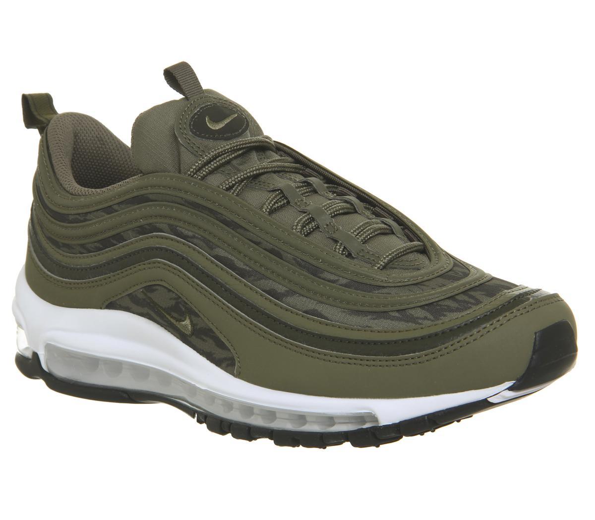 Nike Air Max 97 Medium OliveSequoiaNeutral Olive Trainers