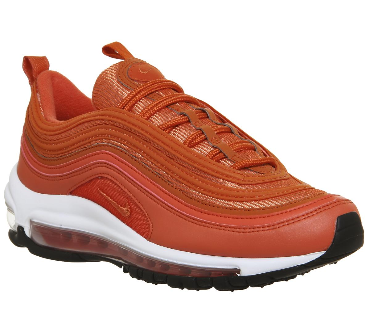 Nike Air Max 97 Trainers Vintage Coral Black F Hers trainers
