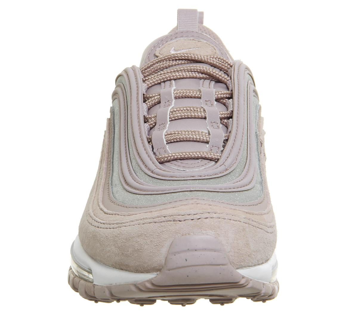 Nike Air Max 97 Trainers Rust Pink Particle Rose White