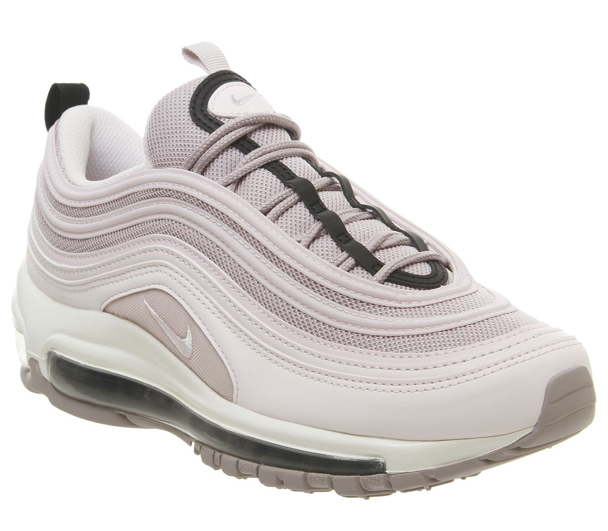05a63b247e784 Nike Air Max 97 Trainers Pale Pink Violet Ash Black Summit White ...