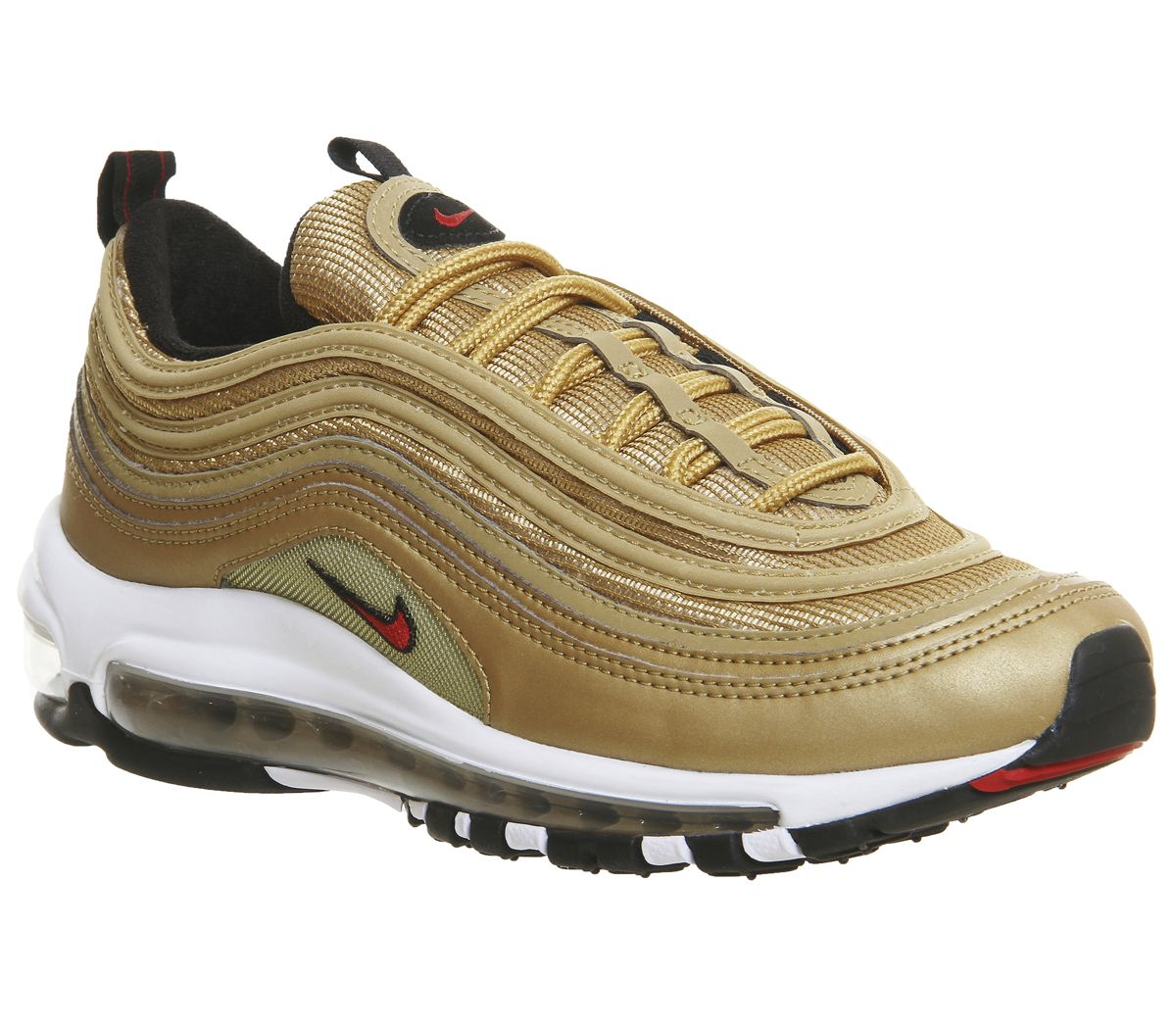 newest 394e1 e4b1e Nike Air Max 97 Trainers Mtlc Gld Var Red - Hers trainers