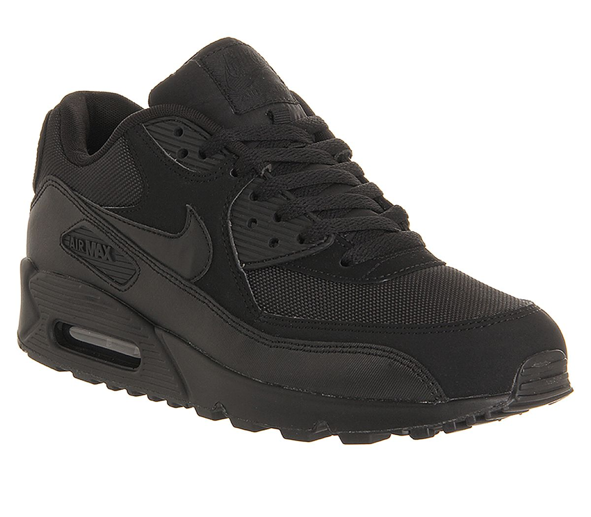 the best attitude 386c2 161fb Nike Air Max 90 Black Mono - His trainers