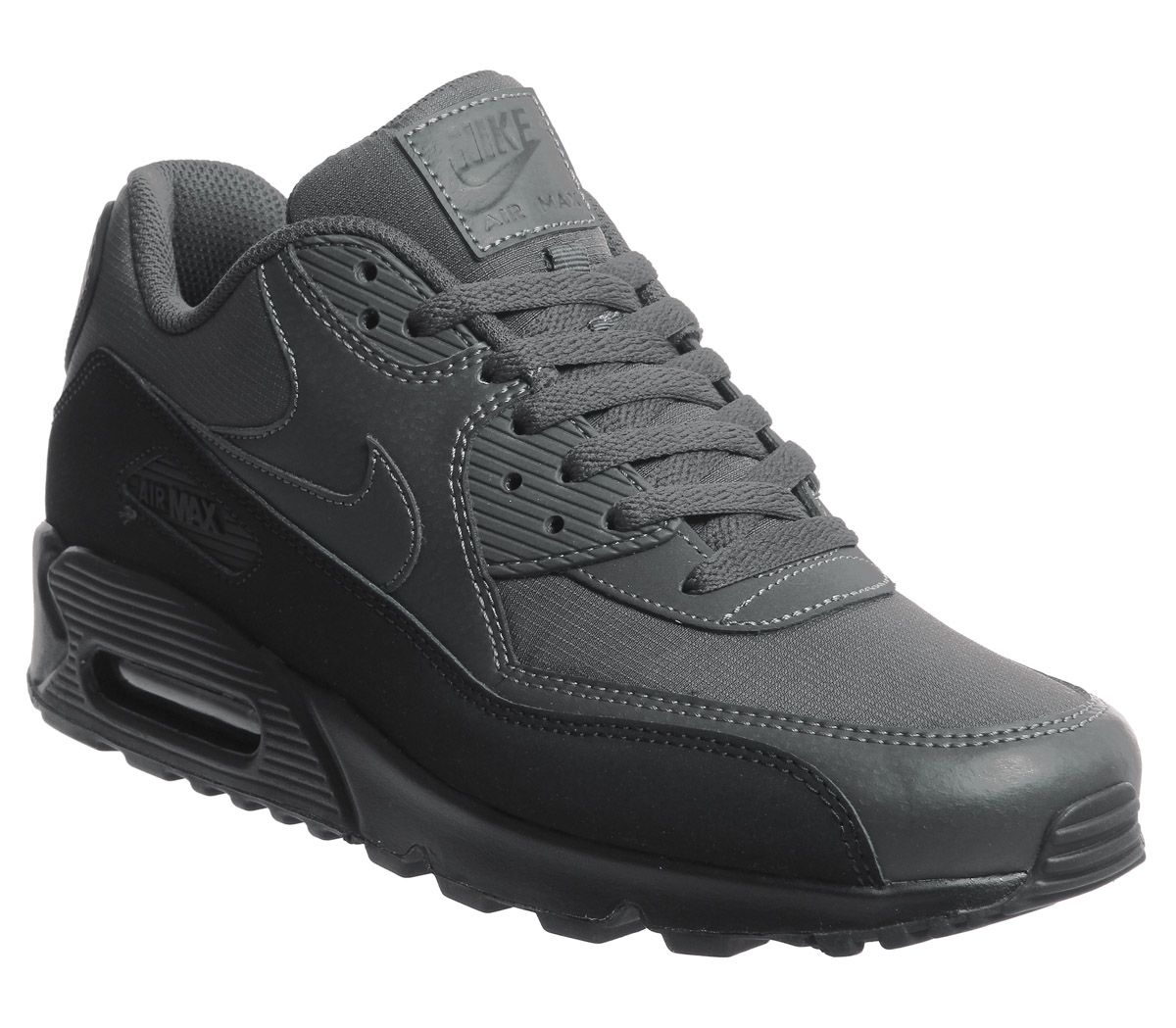 5d1613b65c Nike Air Max 90 Trainers Black Anthracite - His trainers