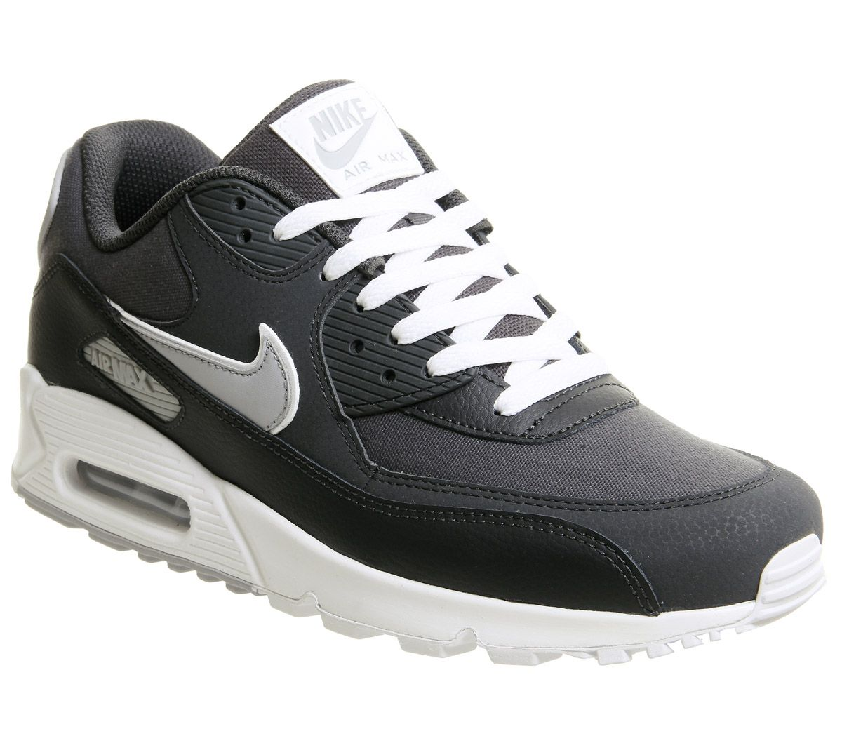 pretty nice 53108 0df3d Nike Air Max 90 Black Anthracite Wolf Grey - Unisex Sports