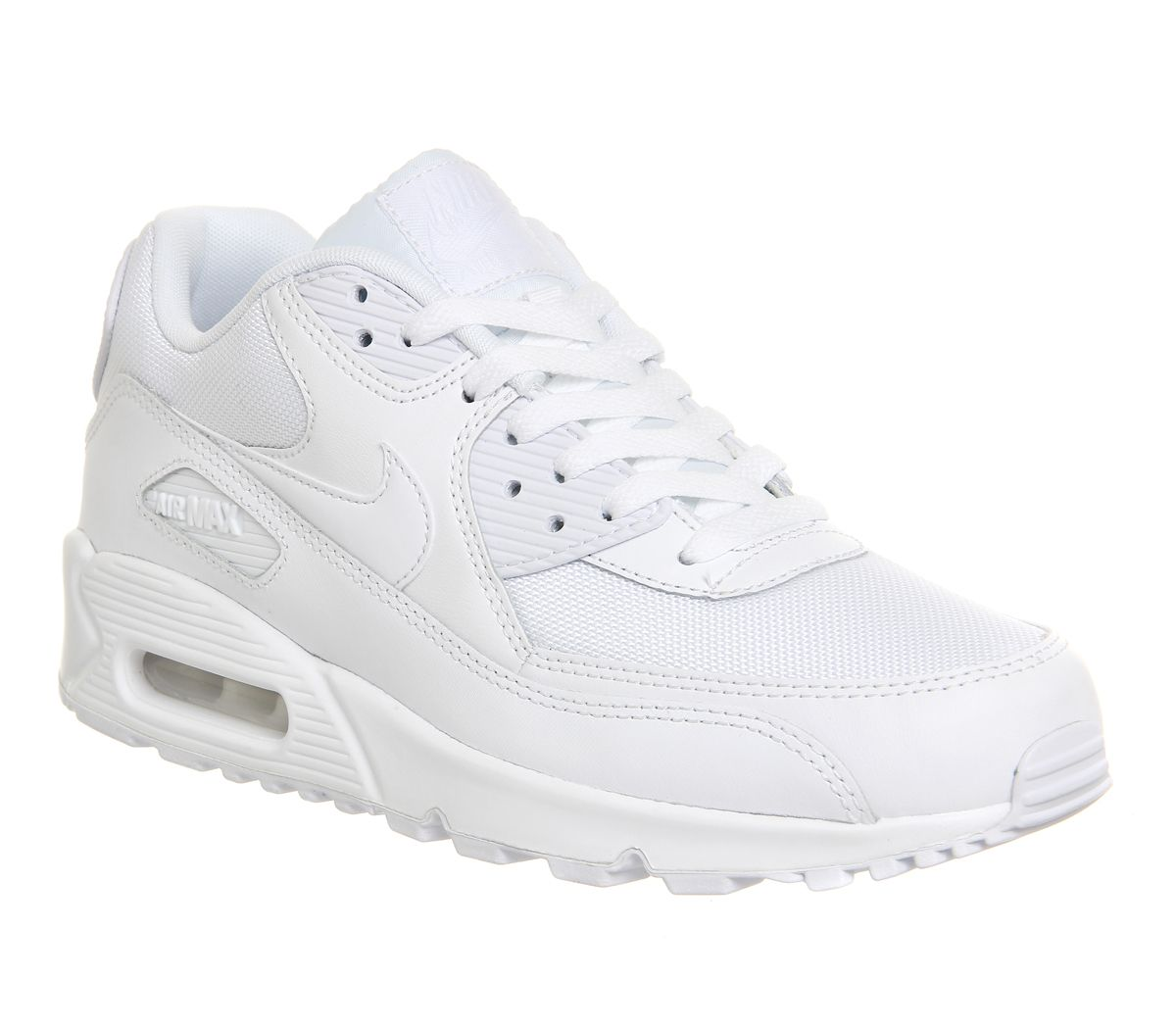 e7a3bd0b32 Nike Air Max 90 White Mono - His trainers