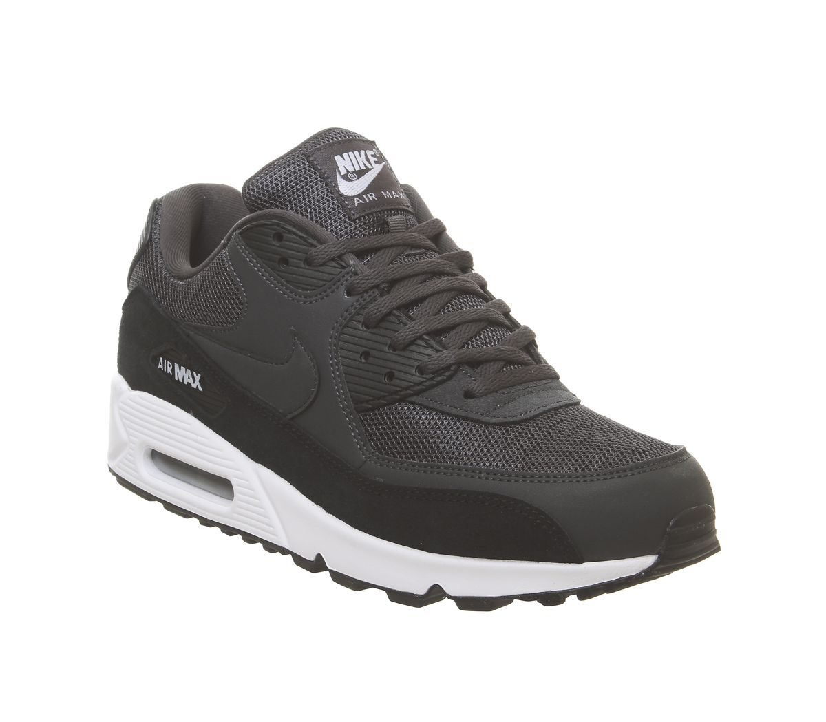 cheap for discount 7e375 def50 Nike Air Max 90 Anthracite White Black - Unisex Sports