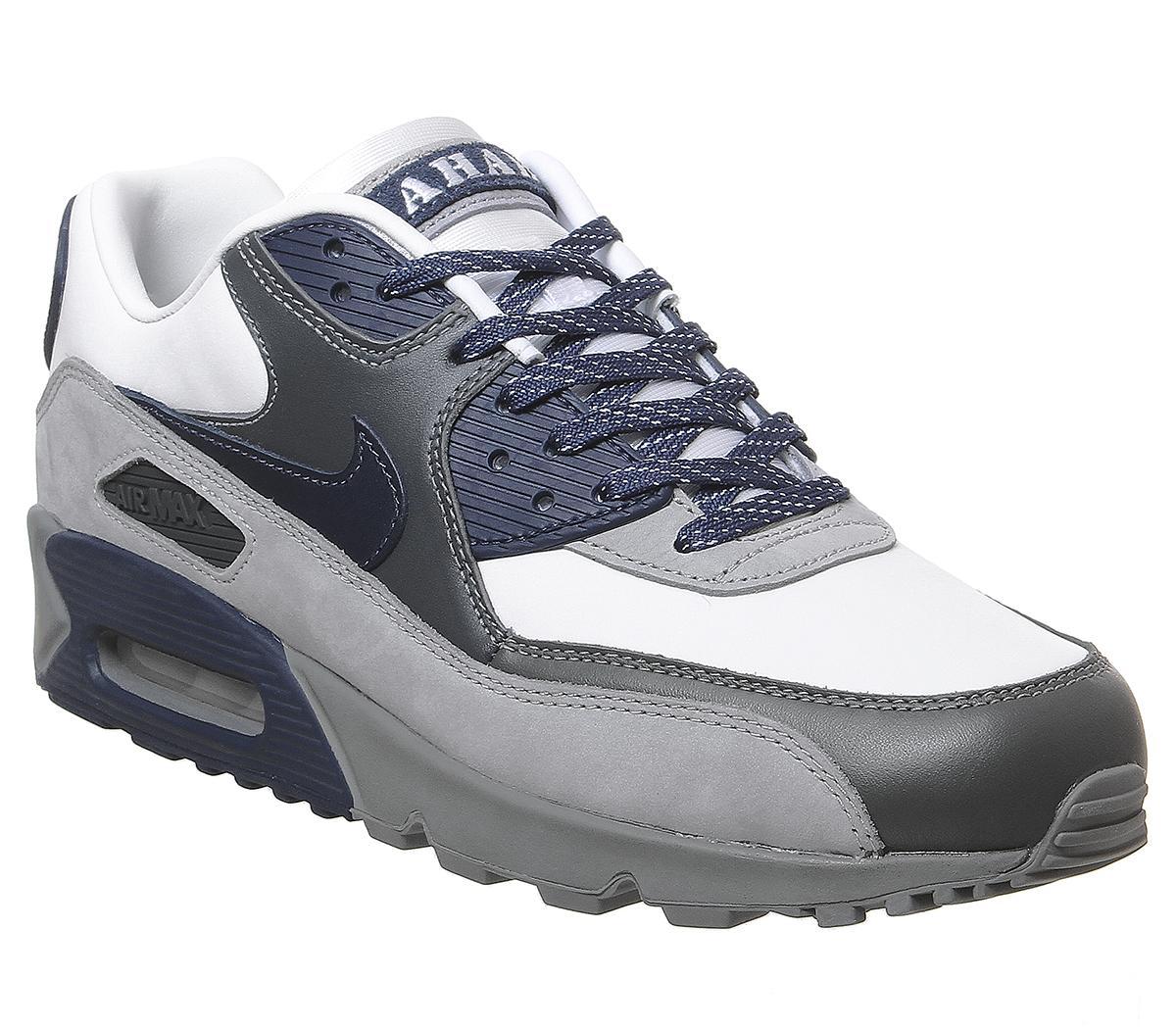 Nike Air Max 90 Trainers White Neutral