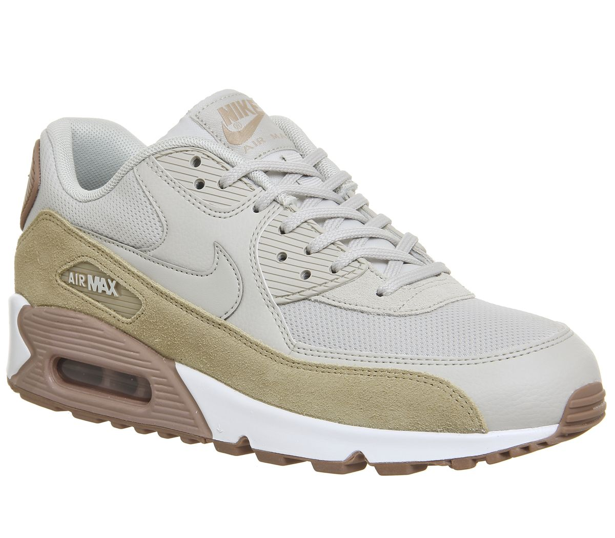 official photos 83bcf 2e080 Nike Air Max 90 Light Bone Mushroom Particle Pink - Unisex Sports