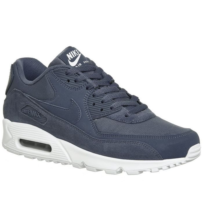 designer fashion dce9b f13fb Air Max 90 Trainers  Nike, Air Max 90 Trainers, Diffused Blue White ...