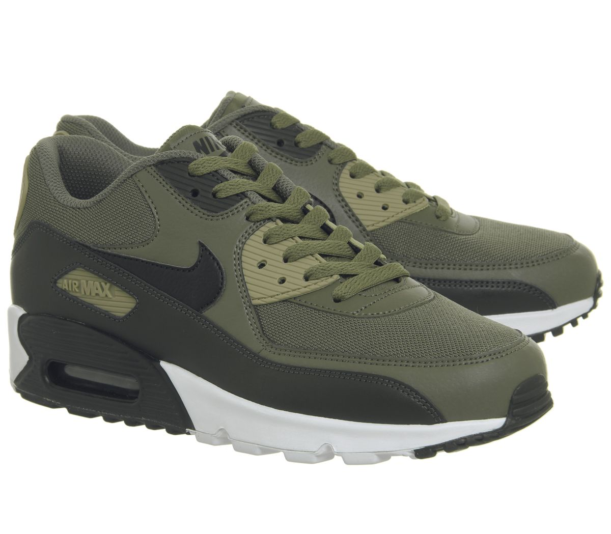 new concept 912a8 c7c52 Nike Air Max 90 Trainers Medium Olive Black - His trainers