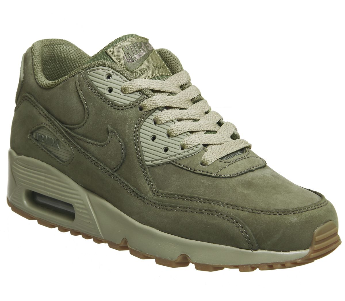 low priced a2bbd 1526a Nike Air Max 90 Medium Olive Gum Light Brown - Hers trainers