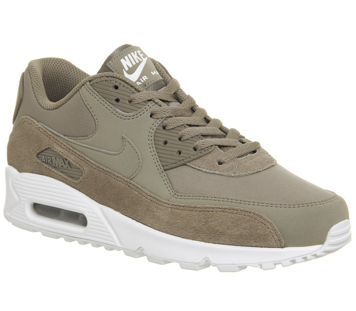 big sale 32bd8 13182 Nike Air Max 90 Trainers Sepia Stone White - His trainers