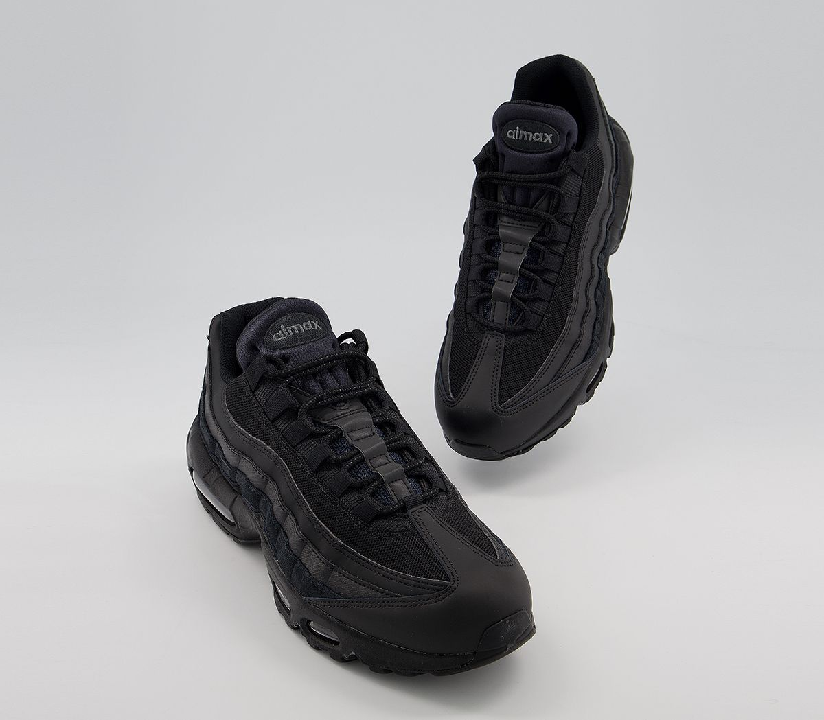 online store ec748 f9a41 Nike Air Max 95 Black Black Anthracite - His trainers