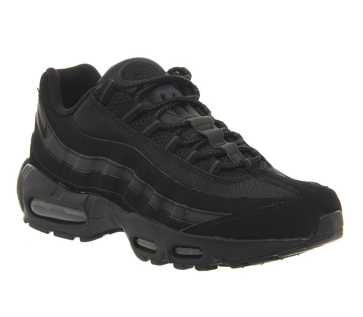 45e2e0620f Nike Air Max 95 Black Black Anthracite - His trainers