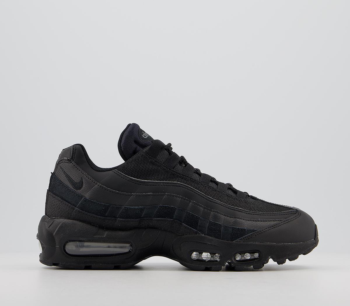 Nike Air Max 95 Trainers Black Black