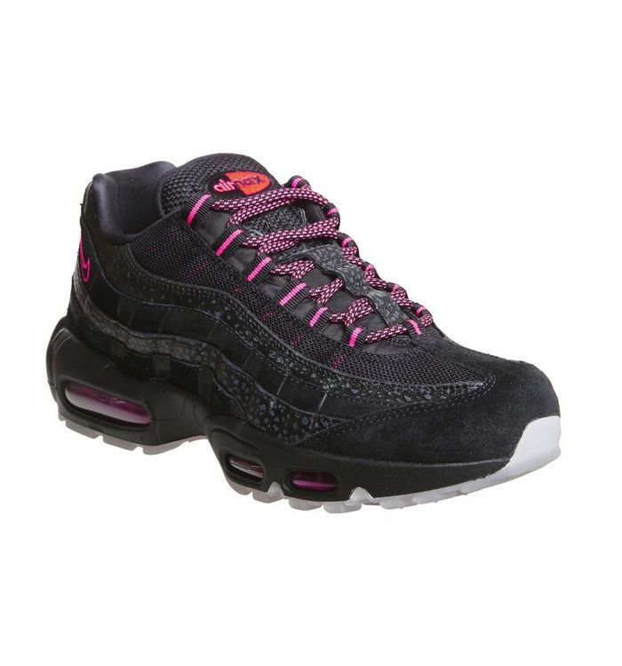 timeless design fd67a fca72 Air Max 95 Trainers; Nike, Air Max 95 Trainers, Black Infrared ...