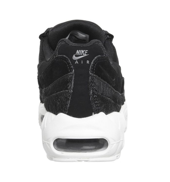 new style 0684a f2f99 ... Black White Pony Fur  Air Max 95 Trainers  Air Max 95 Trainers  Air Max  95 Trainers  Air Max 95 Trainers ...
