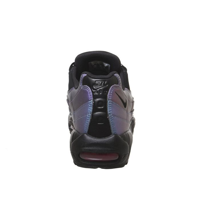 huge discount 426c9 55a68 ... Black Black Laser Fuchsia  Air Max 95 Trainers  Air Max 95 Trainers  Air  Max 95 Trainers ...
