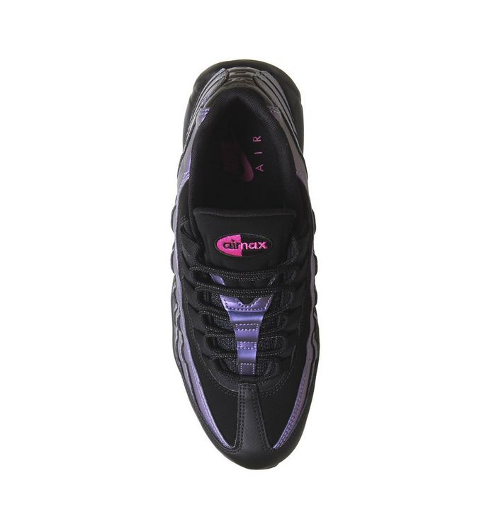 online store c5557 22788 ... Air Max 95 Trainers  Air Max 95 Trainers  Air Max 95 Trainers  Nike, Air  Max 95 Trainers, Black Black Laser Fuchsia