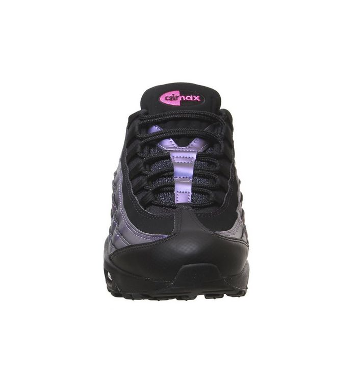 info for 13307 73fd6 ... Black Black Laser Fuchsia  Air Max 95 Trainers  Air Max 95 Trainers ...